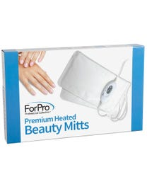 "ForPro Premium Heated Mitts, Two Temperature Settings, Thermal Moisturizing Hand Warmers, 13"" L x 7"" W"