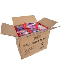 ForPro Basics 4-Piece Pedi Kit 200-Count