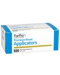 "ForPro Premium Wood Applicators, Non-Sterile, for Hair Removal Waxing, Petite, 5.5"" L x .25"" W, 500-Count"