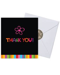 Ginger Lily Farms Botanicals Kudos! Thank You Single Flower, Spinning Bath Bomb and Greeting Card