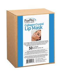 ForPro Collagen Crystal Lip Mask, Hydrating, Anti-Aging, Plumping Lip Renewal Mask, 50-Count