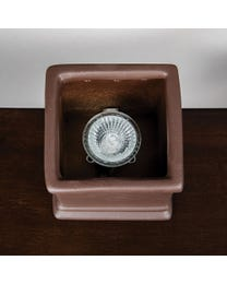 "Classic Calypso Ceramic Halogen Wax Melter, Easy-Clean, 4.5"" Round x 6.5"" H"