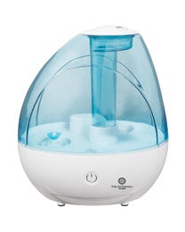 Pure Air Essentials Works Cool Mist Ultrasonic Humidifier, Moisturizes Air, Features Adjustable Mist Options, 360° Nozzle Direction, Auto Shut-Off and Optional Night Light