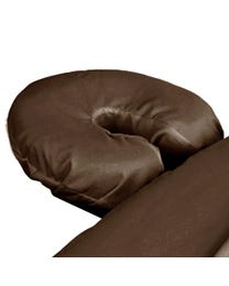 ForPro Premium Microfiber Massage Face Rest Cover, Chocolate, Ultra-Light, Stain and Wrinkle-Resistant, for Massage Tables