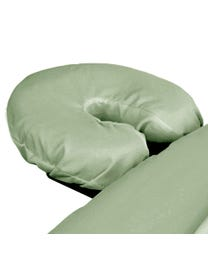 Premium Microfiber Massage Face Rest Cover, Sage, Ultra-Light, Stain and Wrinkle-Resistant, for Massage Tables