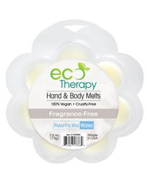 Paraffin Wax Works EcoTherapy Hand & Body Wax Melts Fragrance-Free 2.6 oz.