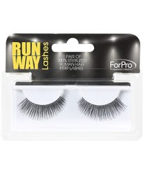 Runway Human Strip Lashes A14a Black 1-pr.