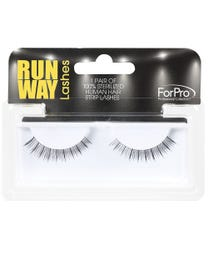 Runway Human Strip Lashes A34a Black 1-pr.