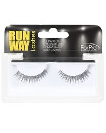 Runway Human Strip Lashes A34b Black 1-pr.