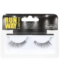 Runway Human Strip Lashes A24b Black 1-pr.