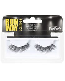 Runway Human Strip Lashes A14c Black 1-pr.