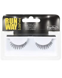 Runway Human Strip Lashes C14a Black 1-pr.