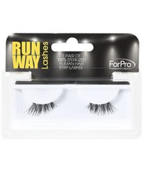 Runway Human Strip Lashes A26a Black 1-pr.