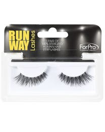 Runway Human Strip Lashes A15a Black 1-pr.