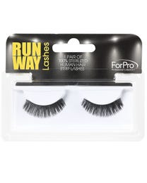 Runway Human Strip Lashes A15b Black 1-pr.