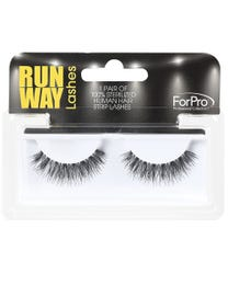 Runway Human Strip Lashes A16a Black 1-pr.