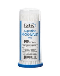 ForPro Superfine Micro Brush White 100-ct.
