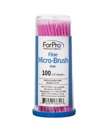 ForPro Fine Micro-Brush Pink 100-Count
