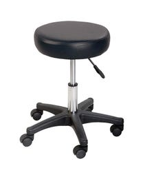 ForPro Table Stool, Massage and Spa Chair, Black