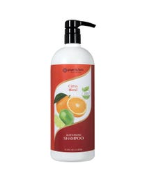 Ginger Lily Farms Botanicals Moisturizing Shampoo Citrus Blend, Paraben, Phosphate and Sulfate Free, 1 Liter