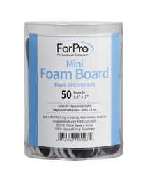 ForPro Black Mini Foam Boards 180 grit 50-pk.